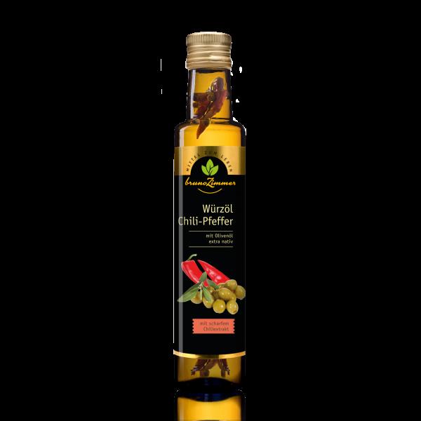 Würzöl BIO Chili-Pfeffer 250 ml