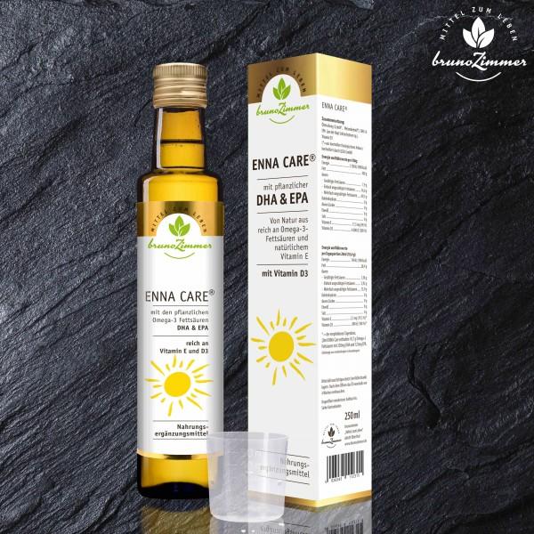 Enna Care Leinöl-DHA-Weizenkeimöl+Vit. D3 250ml