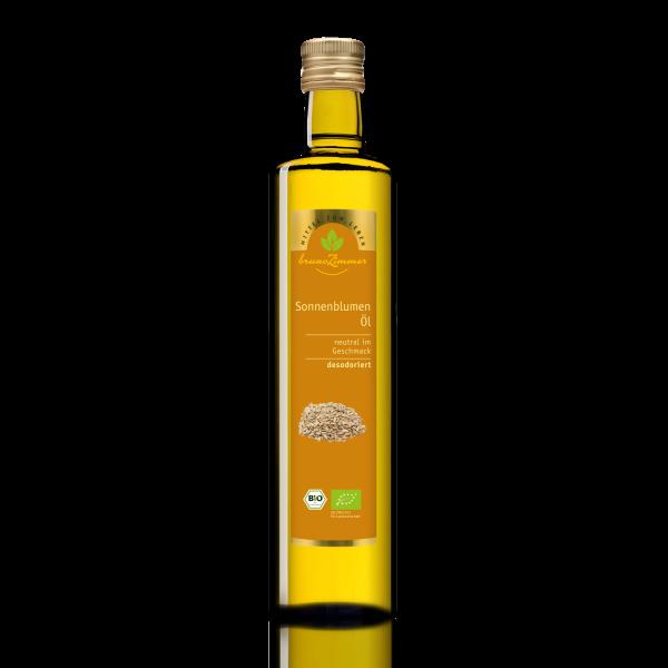 Sonnenblumenöl BIO desodoriert 750ml
