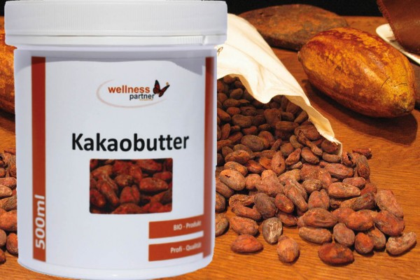 Kakaobutter BIO 500 ml