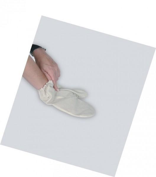 Garshan Seidenhandschuhe - grob