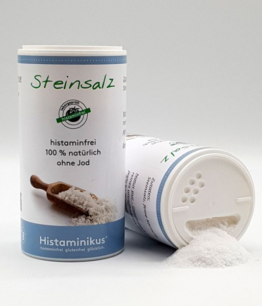 Histaminikus Steinsalz ohne Jod 250g