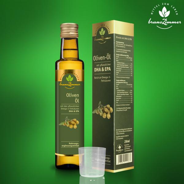 Olivenöl BIO extra vergine plus DHA&EPA