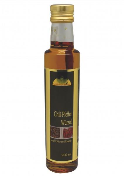 Würzöl Chili-Pfeffer BIO 250 ml